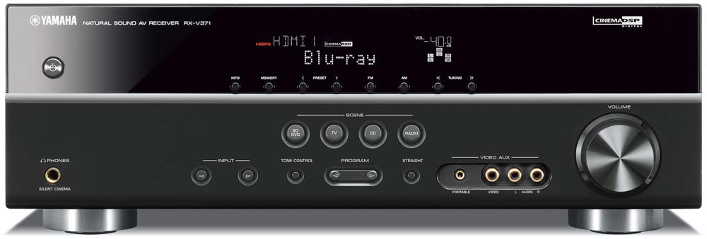 Amazon.com: Yamaha RX-V371BL 5.1- Channel A/V Receiver (Discontinued