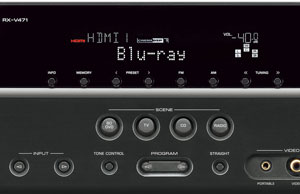 The Yamaha RX-V471 Receiver