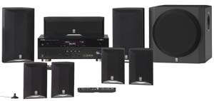 The Yamaha YHT-895 Theater System