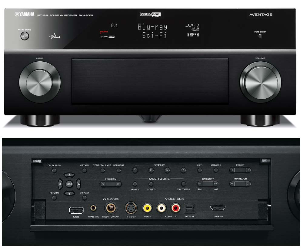 yamaha rx a2000 7 1 channel audio video
