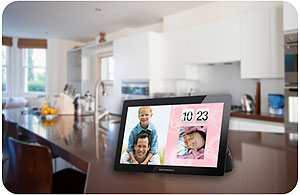 摩托罗拉MFV700视频,照片的数码相框