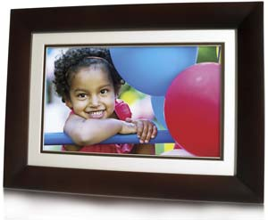HP 10.1-inch Digital Photo Frame