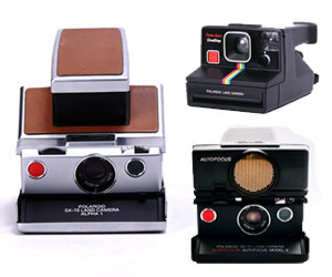 typical SX-70 cameras