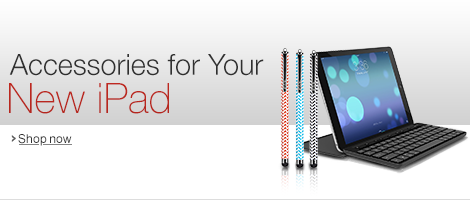 Accessories for Your New iPad