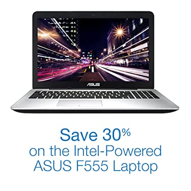 Save 30% on the Intel-Powered ASUS F555 Laptop