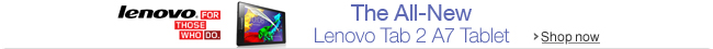 The All-New Lenovo Tab 2 A7