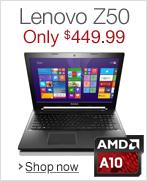 Lenovo Z50--Only $449.99