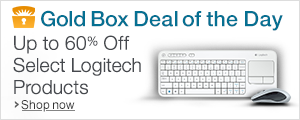 Gold Box Deal of the Day: Up to 60% Off Select Logitech Products