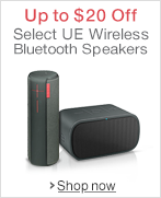 Up to $20 off Select UE Wireless Bluetooth Speakers