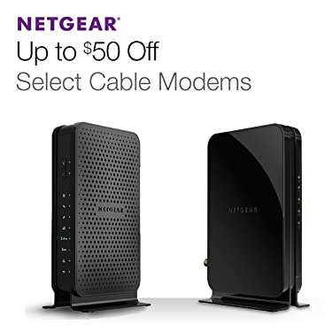Up to 50% Off Select Cable Modems