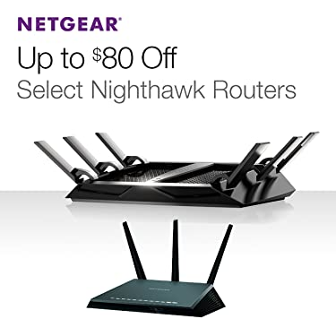 Up to $80 Off Select Nighthawk Routers