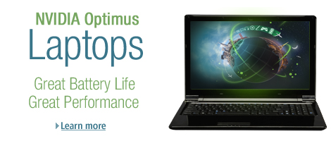NVIDIA Optimus Laptops