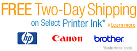 FREE Two-Day Shipping on Select Printer Ink