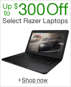 Up to $300 Off Select Razer Gaming Laptops