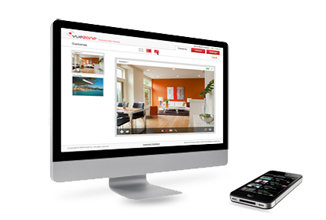 The VueZone is mobile and can be used on a home computer