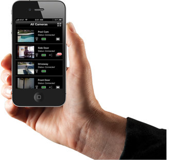 View the VueZone from your iPhone