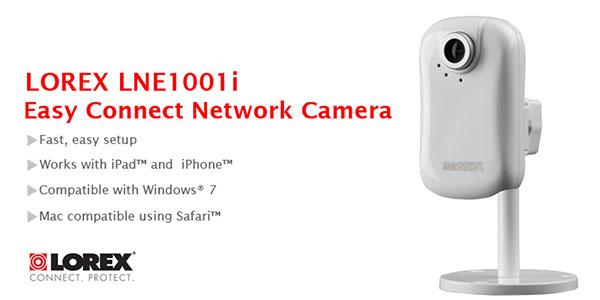 Lorex LNE1001i Easy Connect Network Security Camera