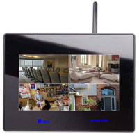 7-inch LCD monitor-receiver