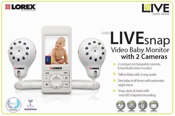 lorex lw2003pk2 digital video baby monitor best video baby mon. Black Bedroom Furniture Sets. Home Design Ideas