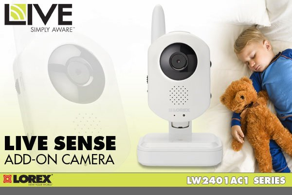 Lorex LIVE Sense Add-On Camera - LW2401AC1