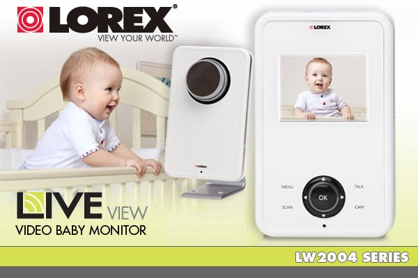 Lorex LIVE view - Wireless Video Baby Monitor - LW2004