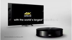 4K Ultra HD video service
