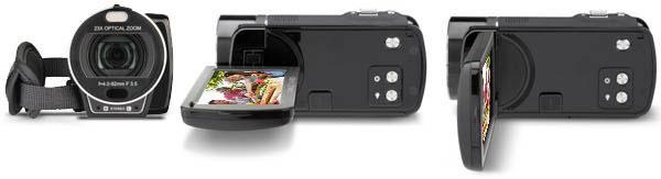 Máy quay phim Toshiba Camileo X400 1080p HD Camcorder