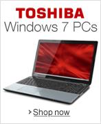 Toshiba Windows 7 PCs