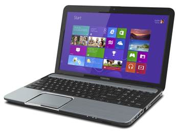 toshiba 12q4 S855 main anglewin8 sm Toshiba Satellite S855 S5168 15.6 Inch Laptop (Ice Blue Brushed Aluminum)