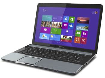 toshiba 12q4 S875 main anglewin8 sm Toshiba L855 S5372 15.6 Laptop with 3rd Generation Intel Core i7 3630QM