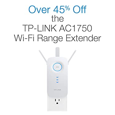 Over 45% Off the TP-Link AC1750 Wi-Fi Range Extender