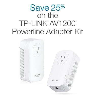 Save 25% on the TP-Link AV1200 Powerline Adaptor Kit