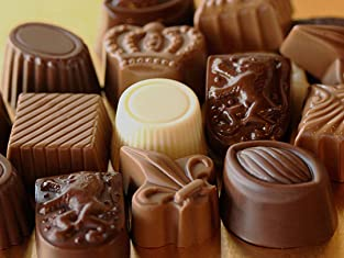 Box of Handcrafted Chocolate Creations