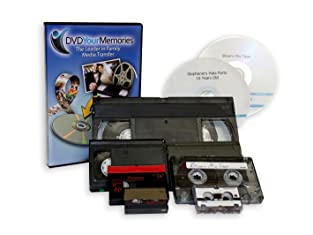Six Videotapes or Audio Cassettes Transferred to DVD or CD