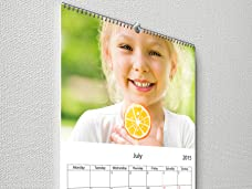Custom 8.5x11 Photo Calendar with Free Shipping