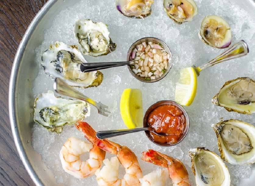 Vella Wine Bar + Kitchen: Oysters and Wine or Dinner for Two