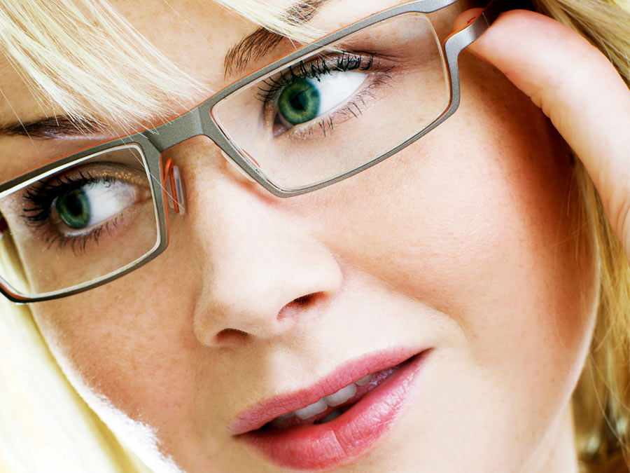Eye Exam and Prescription Glasses or Contacts