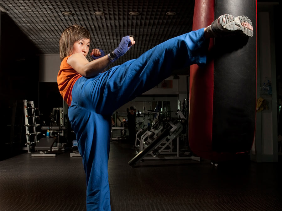 Kickboxing, Kettlebell, or Boot Camp Classes