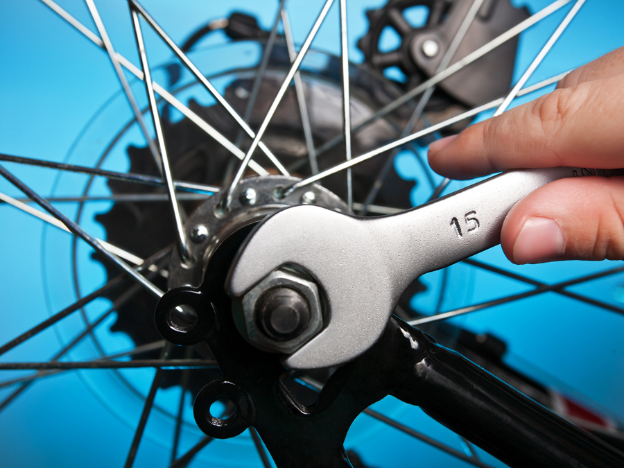 Bike Tune-Up with Wheel Alignment