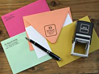 Personalized Stamp or Embosser with Shipping