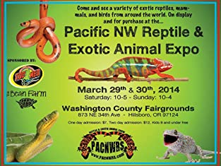 Admission to Reptile and Exotic Animal Show