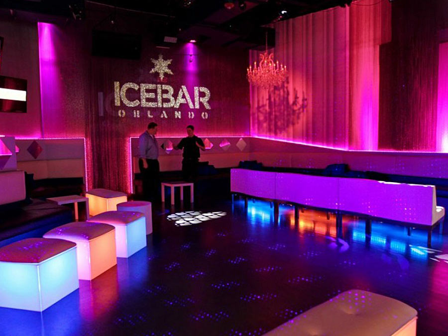 ICEBAR Orlando: Drinks, Fur Coats, and Entry for Two