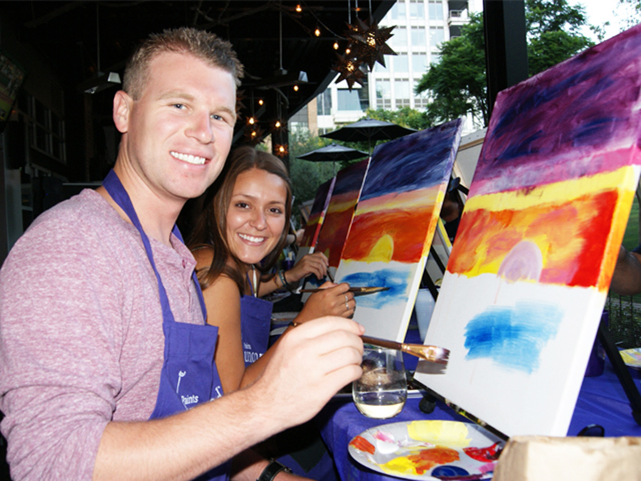 Three-Hour Painting Event