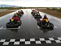 Three Fast Kart Races for One, Two, or Four