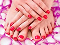 Rose and Champagne Special Mani/Pedi