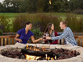 Chicago-Area Stay at Eaglewood Resort & Spa with $50 Resort Credit Per Day