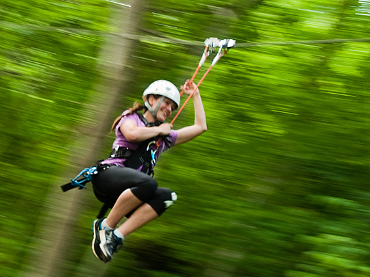 Adventure Park Climb and Zip Line Canopy Tour