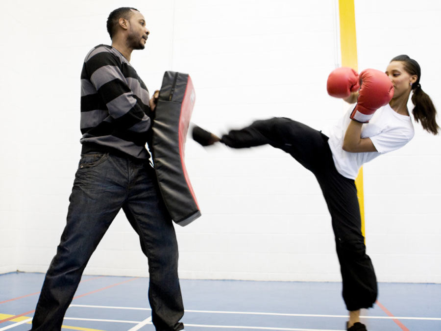 Kickboxing or Kid, Teen, or Adult Krav Maga Classes