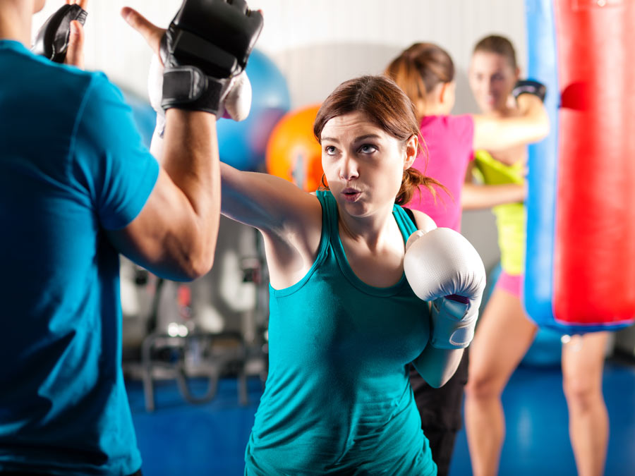 Ten Kickboxing Classes or One Month of Classes
