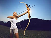 Archery Practice Session with Bows & Arrows for Two